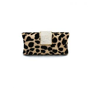 Leopard Banquet Package Luxurious Atmosphere Evening Bag Diamond Clutch Bag Clutch Bags