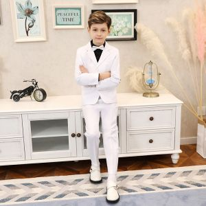 Elegant White Boys Wedding Suits 2019