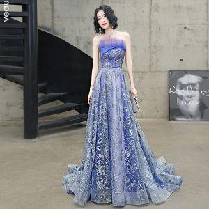Sparkly blue dress