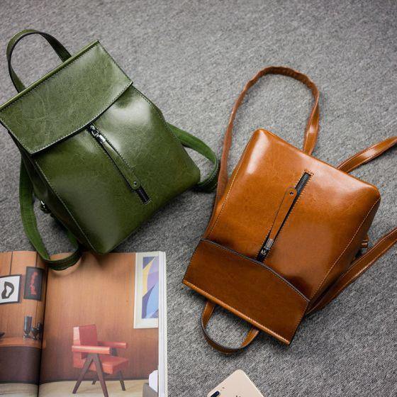 Schöne Rucksäcke 2021 Leder Freizeit Damentaschen