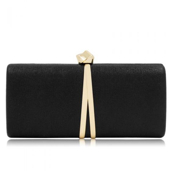 Modest / Simple Black Cocktail Party Evening Party Clutch Bags 2018