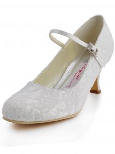 Die Neue Benutzerdefinierte Spitze Fußring Mit Hochhackigen Schuhen Partei Handgemachte Brautschuhe