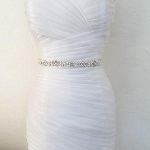 Luxus Hvide Bryllup Skærf  2020 Tulle Metal Beading Perle Rhinestone Bryllups Galla Accessories
