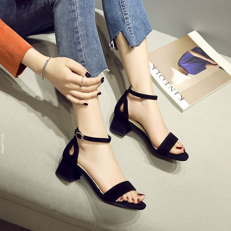 Chic / Beautiful Leather Womens Sandals 2017 Outdoor / Garden Prom Ivory Suede High Heels Open / Peep Toe Pumps