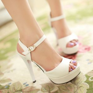Fashion Heels Patent-leather High Heel Womens Shoes Pumps Sandals