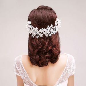 Handmade Lace Bridal Headpieces / Head Flower / Wedding Hair Accessories / Wedding Jewelry