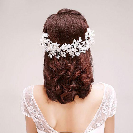 Handmade Lace Bridal Headpieces / Head Flower / Wedding Hair Accessories / Wedding Jewelry