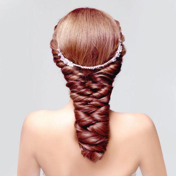 Mode-u Type Strass Bruids Hoofdtooi / Head Bloem / Bruiloft Haar Accessoires / Bruiloft Sieraden