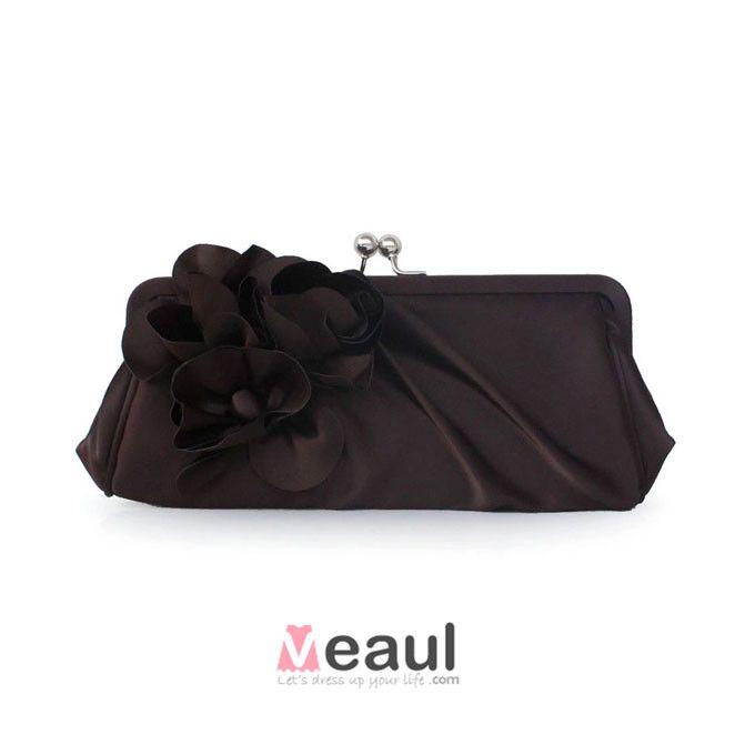 Sweet Lady Fashion Silk Clutch Bag