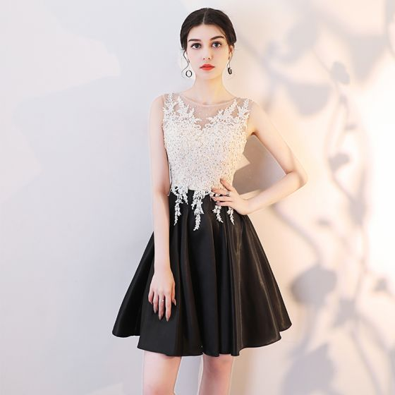 Lace Short Cocktail Dress