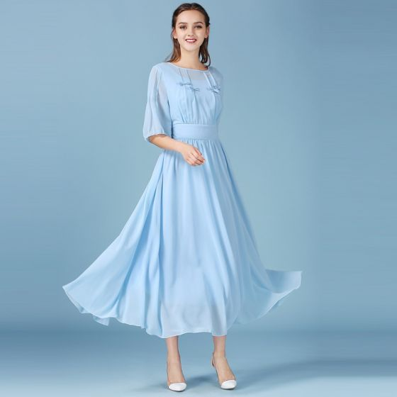 815f2aad5bd sky-blue-summer-maxi-dresses -chiffon-2018-a-line-princess-scoop-neck-1-2-sleeves-tea-length-ruffle-women-s-clothing-560x560.jpg