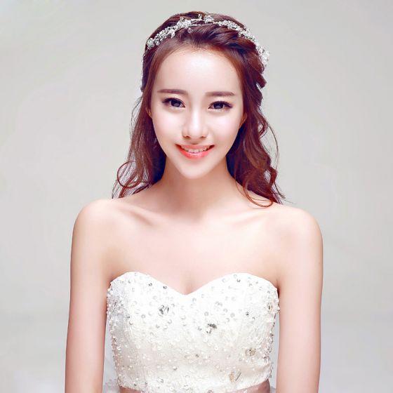 Mode Handgemaakte Bruids Hoofdtooi / Head Bloem / Bruiloft Haar Accessoires / Bruiloft Sieraden