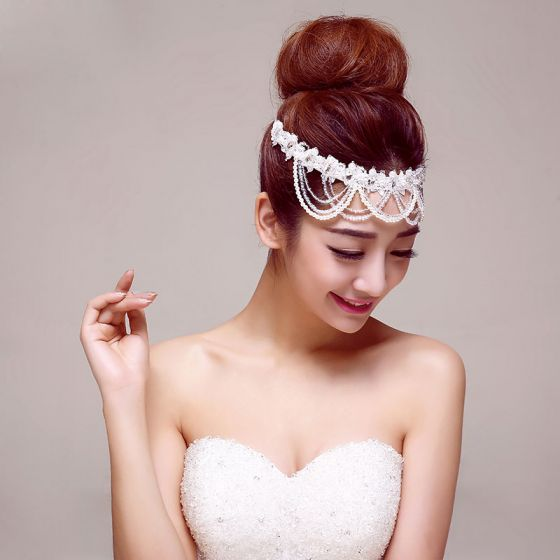 Gloden Klassischen Braut Kopfstück / Kopf Blume / Haarschmuck Braut