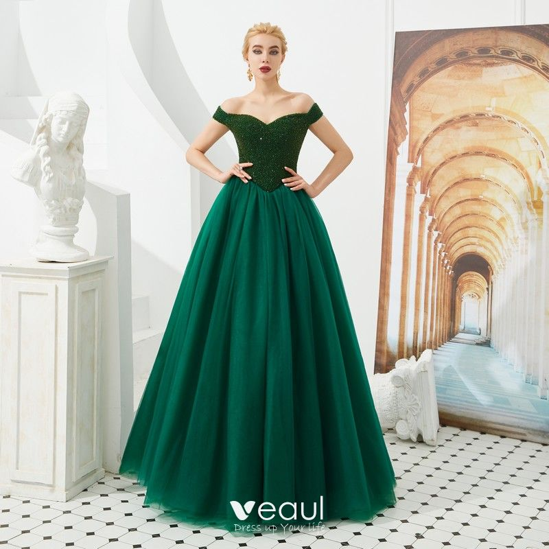 Best Dark Green Prom Dresses 2019 A