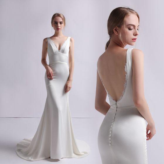 79c0e90a51dc modest-simple-ivory-satin-wedding-dresses-2019-trumpet-mermaid -v-neck-sleeveless-backless-sweep-train-ruffle-560x560.jpg