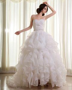 Wzburzyc Kochanie Organzy Linke Katedra Pociagu Bez Rekawow Suknia Balowa Suknie Ślubne Suknia Ślubna