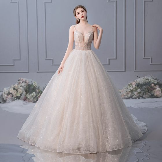 ae845bc8d8f elegant-champagne-wedding-dresses-2019-ball-gown-spaghetti -straps-sleeveless-backless-cathedral-train-560x560.jpg