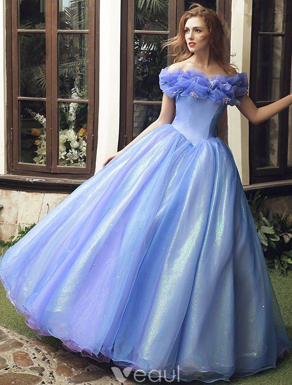 Cinderella Movie 2015 Adult Costume Dress Prom Dress Cheap Version