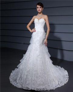 Organza Schatz Gericht Mantel Brautkleider Hochzeitskleid