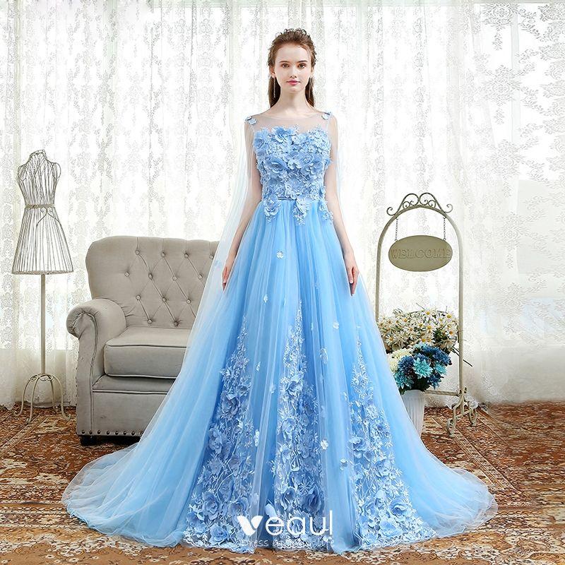 Blue Wedding Dresses 2018 - Photo Dress Wallpaper