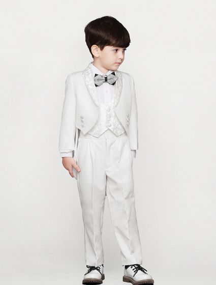 Boys White Suits, 5 Sets Suits For Child