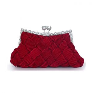Handgewebte Seidenkleid Beutel Sweet Lady Kleine Tasche Brautjungfer PaketClutch Taschen