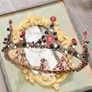 Classic 2017 Bronze Metal Tiara Bridal Jewelry