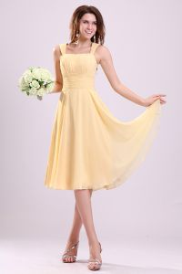 2015 Pretty Pleated Shoulders Short Bridesmaid Dresses