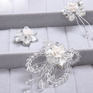 Pearl Flower Bridal Headpieces Hair Accessories