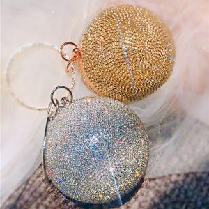 Scintillantes Faux Diamant Pochette 2020 Métal Accessorize