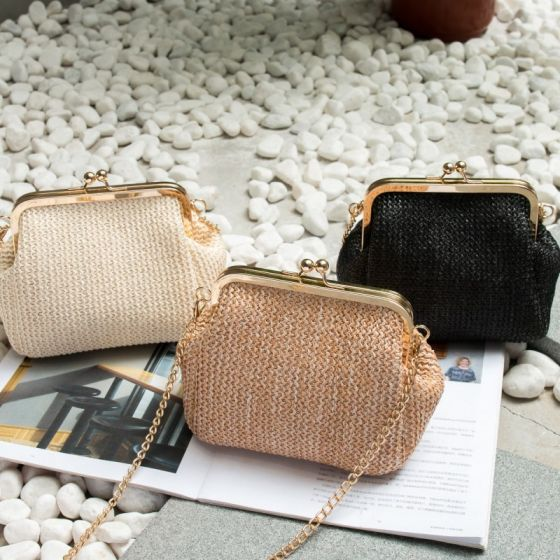 Chic / Beautiful Braid Clutch Bags 2020