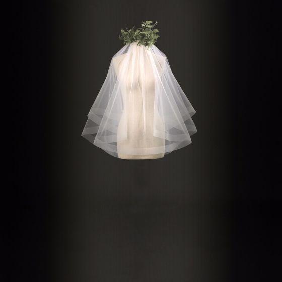 Versand in 24 Stunden Brautschleier Weiß Tülle 2017 Klassisch