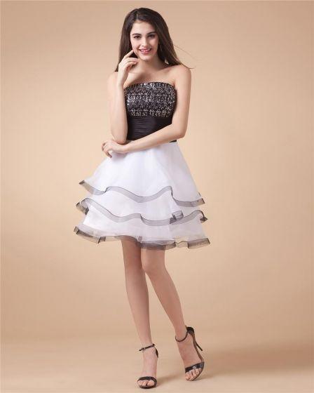 Przedza Aplikacja Długosc Kochanie Kolano Tanie Sukienki Koktajlowe Sukienki Wizytowe