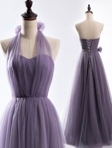One Dress, Dress Up In 4 Ways. Simple Tulle Bridesmaid Dress