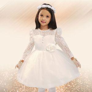 Blumenmädchen-kleid Prinzessin Kleid Kommunionkleider