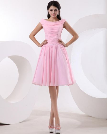 Pink and Black Party Dresses