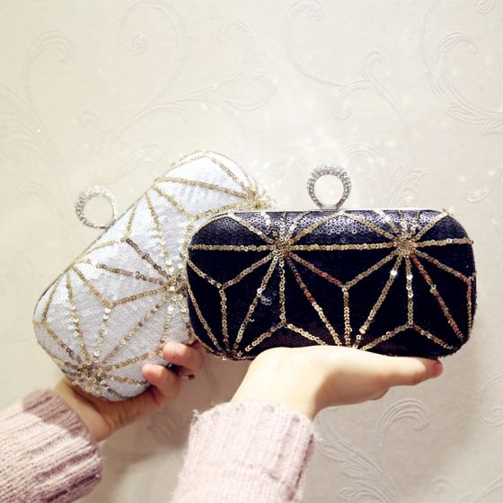 Chic / Beautiful Sequins Clutch Bags 2018
