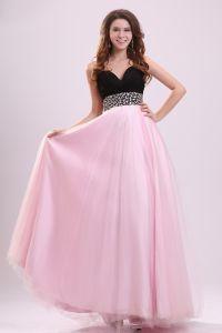 De Beste Look Roze Mouwloze Lieverd Galajurk