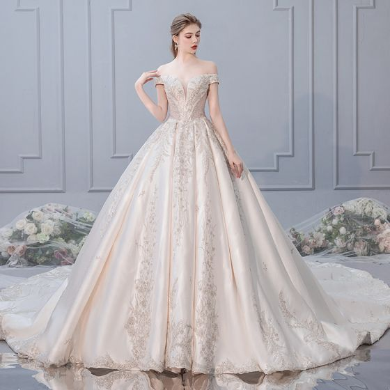 0457b683b13 luxury-gorgeous-champagne-wedding-dresses-2019-ball-gown-off-the-shoulder- beading-sequins-lace-flower-short-sleeve-backless-royal-train-560x560.jpg