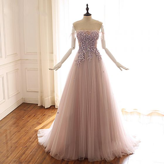 4f7b9348d0 classy-pearl-pink-prom-dresses-2019-a-line-princess-off-the-shoulder-short -sleeve-appliques-lace-beading-sweep-train-ruffle-backless-formal-dresses -560x560.jpg