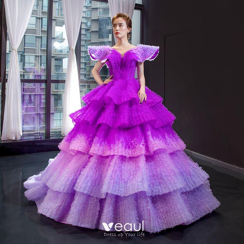 purple prom dresses 2020