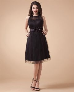 Elegant Lace Taffeta Organza Party Dress