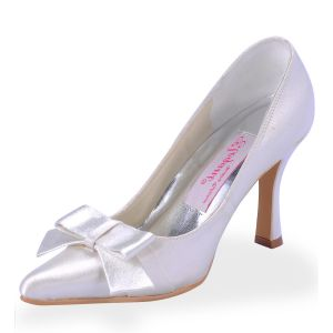 Handmade Custom Wedding Shoes, Bridal Party Shoes High-heeled Wedding Lovely Butterfly Toe Head