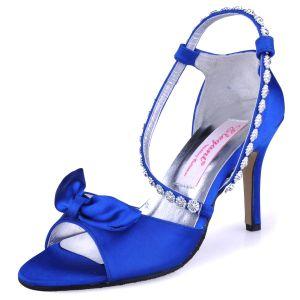 Schuhe DiamantBrautschuhe Hochzeitsschuhe Niedlichen Schleife