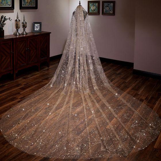 راهنمای انتخاب تور عروس-تور عروس درخشان مدل 2019