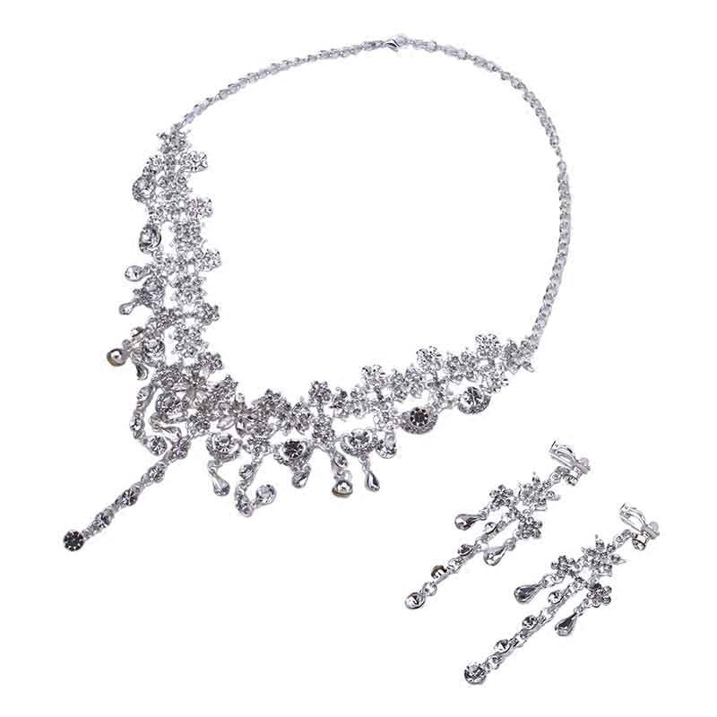 Amazing / Unique Silver Bridal Jewelry 2017 Metal Handmade  Beading Crystal Headpieces Wedding Prom Accessories