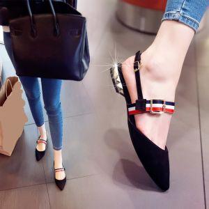 Chic / Beautiful 2017 Black Grey Outdoor / Garden PU Brown Grey Low Heels / Kitten Heels Platform Summer Low Heel Pumps