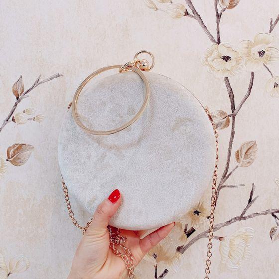 Fine Aprikos Håndvesken  2019 3D Lace Perle Dusk Tilbehør
