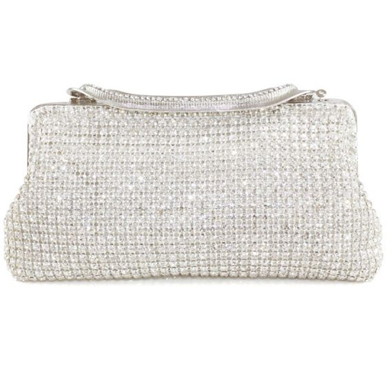 Light Luxury Full Diamond Evening Bag European And American Fashion Party Dress Pack Chain Shoulin Packet Clutch Bags
