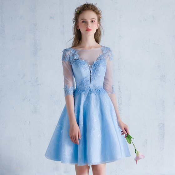 Vestidos graduacion azul